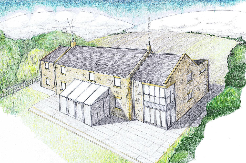 Hagg Hill Farm Sketch